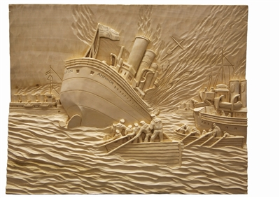 gallery/Panels/Royal-Armouries-Panels/35_Trevor_Metcalf_Sea_8_Amphion_Sinking.jpg